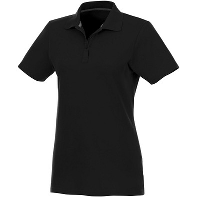 ELEVATE Damen Poloshirt Helios, schwarz, L