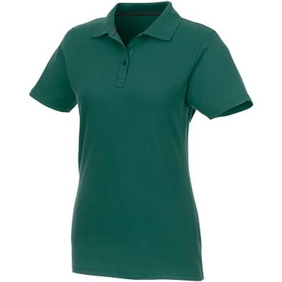 ELEVATE Damen Poloshirt Helios, waldgrün, L