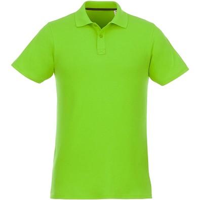 ELEVATE Herren Poloshirt Helios, apfelgrün, M