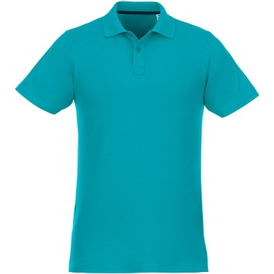 ELEVATE Herren Poloshirt Helios, aquablau, XS