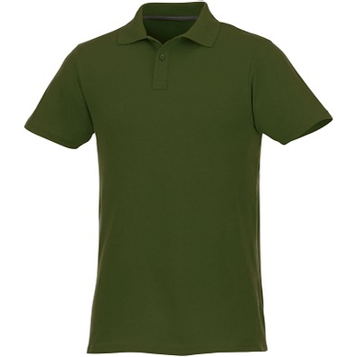 ELEVATE Herren Poloshirt Helios, armeegrün, XS