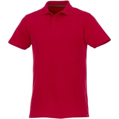 ELEVATE Herren Poloshirt Helios, rot, XS