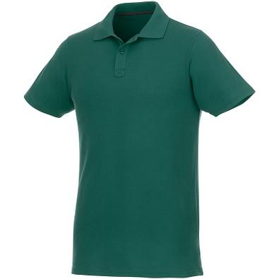 ELEVATE Herren Poloshirt Helios, waldgrün, XS