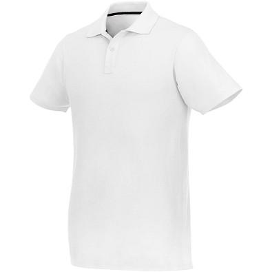 ELEVATE Herren Poloshirt Helios, weiß, XS