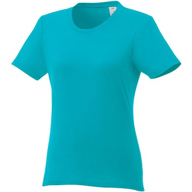 ELEVATE Damen T-Shirt Heros, aquablau, XL
