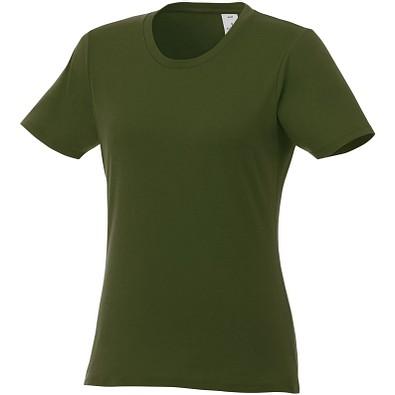ELEVATE Damen T-Shirt Heros, armeegrün, XL