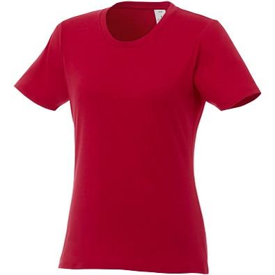 ELEVATE Damen T-Shirt Heros, rot, XS