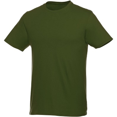 ELEVATE Herren T-Shirt Heros, armeegrün, XS