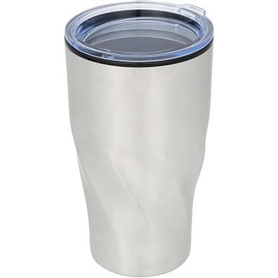 Hugo Isolierbecher, 420 ml, silber