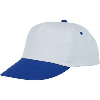 Icarus zweifarbige Kappe mit 5 Segmenten, blau,weiss