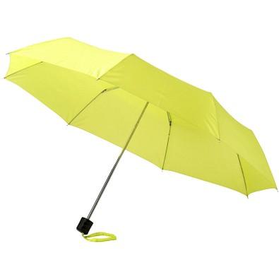 "Ida 21,5"" Kompaktregenschirm, neongrün"