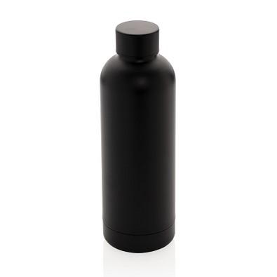 XD COLLECTION doppelwandige Vakuum-Flasche Impact Stainless Steel, 500 ml, schwarz