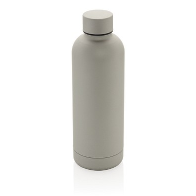XD COLLECTION doppelwandige Vakuum-Flasche Impact Stainless Steel, 500 ml, silber