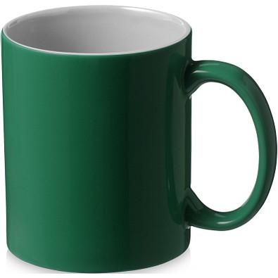 Java Keramiktasse, 330 ml, grün,weiss