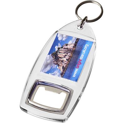 Jibe R1 Flaschenöffner Schlüsselanhänger, transparent klar