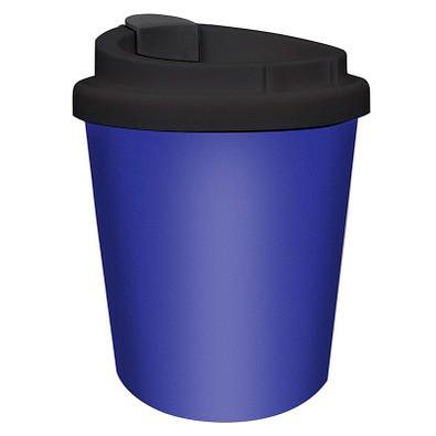 Kaffeebecher PremiumPlus small, 250 ml, standard-blau PP/schwarz