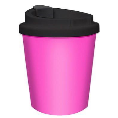 Kaffeebecher PremiumPlus small, 250 ml, rosa/schwarz