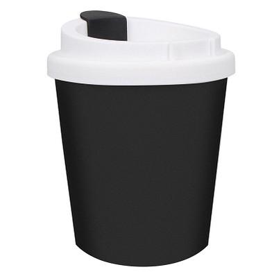 Kaffeebecher PremiumPlus small, 250 ml, schwarz/weiß