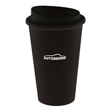 Kaffeebecher Premium, 350 ml, schwarz