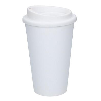 Kaffeebecher Premium, 350 ml, weiß