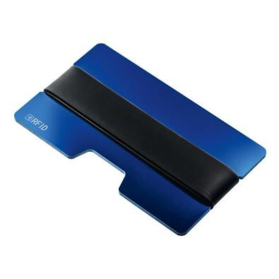 reflects® Kartenetui mit RFID Ausleseschutz Sakumono, blau