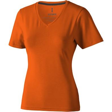 ELEVATE Damen Öko T-Shirt Kawartha, orange, M