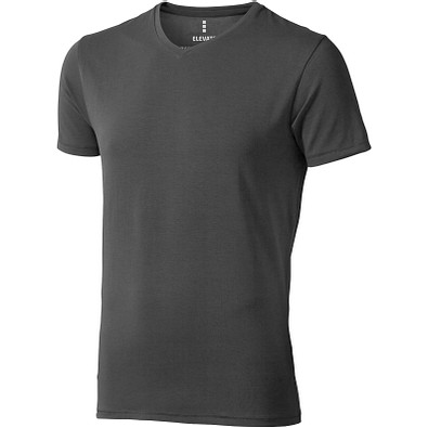 ELEVATE Herren Öko T-Shirt Kawartha, anthrazit, S