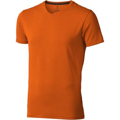 ELEVATE Herren Öko T-Shirt Kawartha, orange, S