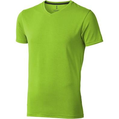 ELEVATE Herren Öko T-Shirt Kawartha, apfelgrün, S