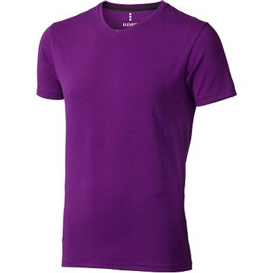 ELEVATE Herren Öko T-Shirt Kawartha, pflaume, S