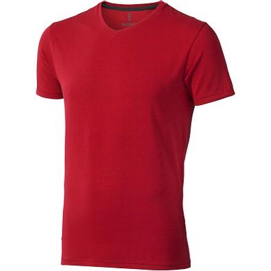 ELEVATE Herren Öko T-Shirt Kawartha, rot, S