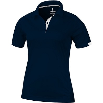 ELEVATE Damen Poloshirt Kiso cool fit, dunkelblau, XS