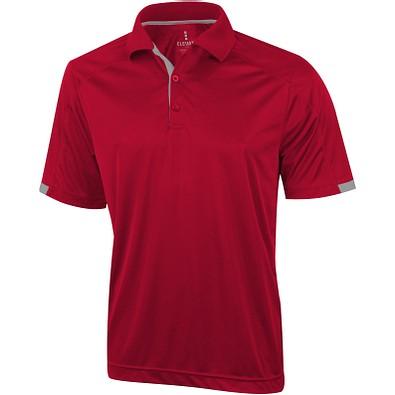 ELEVATE Herren Poloshirt Kiso cool fit, rot, M