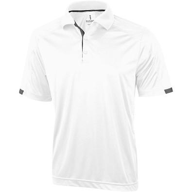 ELEVATE Herren Poloshirt Kiso cool fit, weiß, XXL