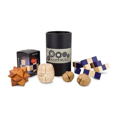 Holz-Knobelspiel Kopfnuss