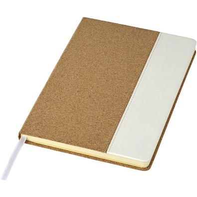Kork A5 Notizbuch, braun
