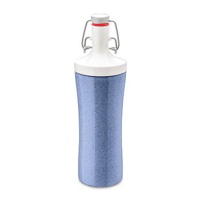 koziol Trinkflasche Plopp to Go, 425ml, organic blue