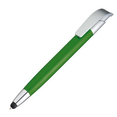 Kugelschreiber mit Touch-Pen Davos,grün