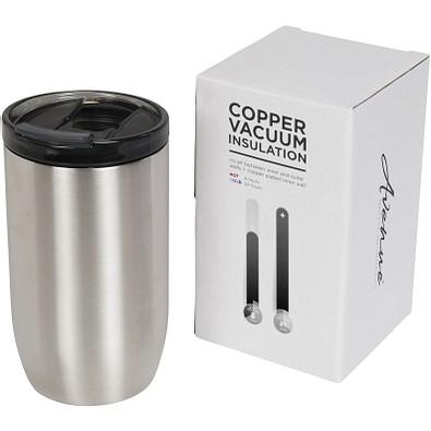 Lagom Kupfer-Vakuum Isolierbecher, 380 ml, silber