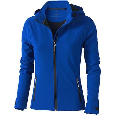 ELEVATE Damen Softshell Jacke Langley, blau, L