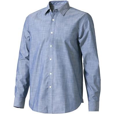 Slazenger™ Herren Langarm Hemd Lucky in Jeansoptik, denim, M