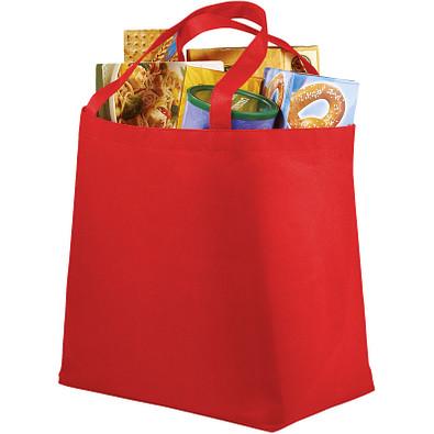 Maryville Non Woven Einkaufstasche, rot