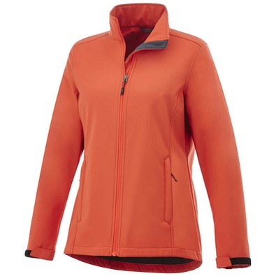 ELEVATE Damen Softshell Jacke Maxson, orange, M