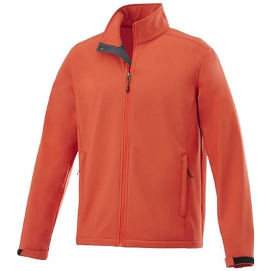 ELEVATE Herren Softshell Jacke Maxson, orange, M