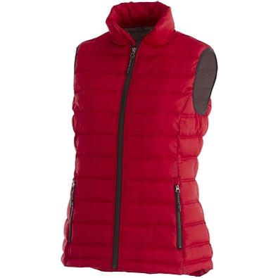ELEVATE Damen Weste Thermo Bodywarmer Mercer, rot, S