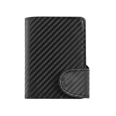 METMAXX® RFID Kartenhalter IWalletCarbon, schwarz