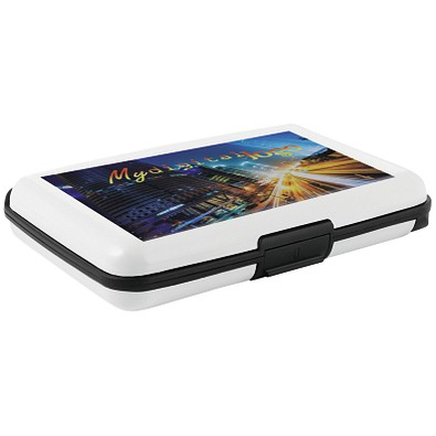METMAXX® Powerbank RFIDCardSafe&Change, 2.500 mAh, weiß