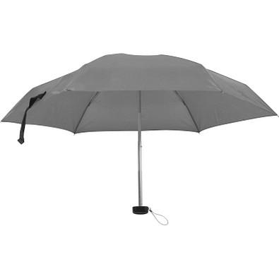 Mini-Regenschirm in einem EVA Etui, grau