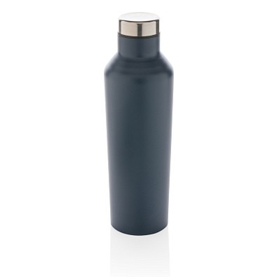 XD COLLECTION Vakuum-Flasche aus Stainless Steel, 500 ml, blau