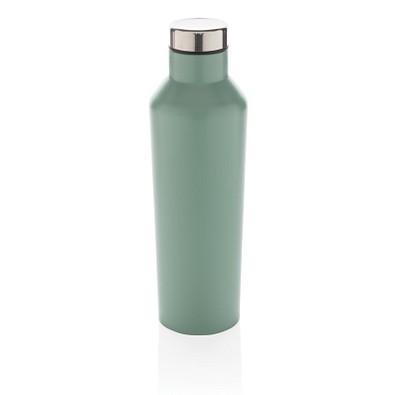 XD COLLECTION Vakuum-Flasche aus Stainless Steel, 500 ml, grün